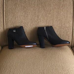 Coach black ankle boots